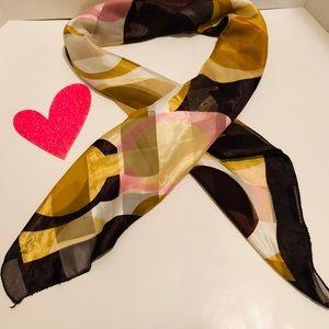 Coach Accessories - COACH-square scarf.